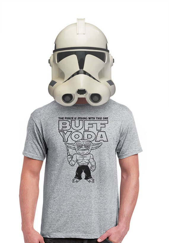 STAR WARS Coffee Shop Stormtrooper Men/'s T-SHIRT yoda darth vader fun tee S-XL