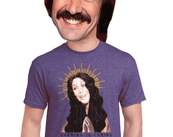 cher, music t shirt, band t-shrt, sonny and cher, sharing is caring, geeky, funny gift, pop music, novelty t shirt, rock and roll, s-4xl
