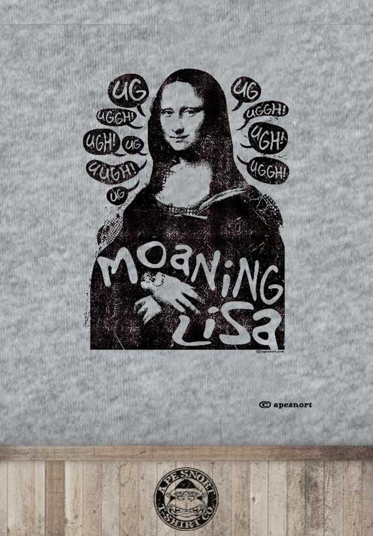 3e28e812b Mona lisa t-shirt funny art gift for art student art | Etsy