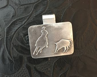 Tracking the cow pendant