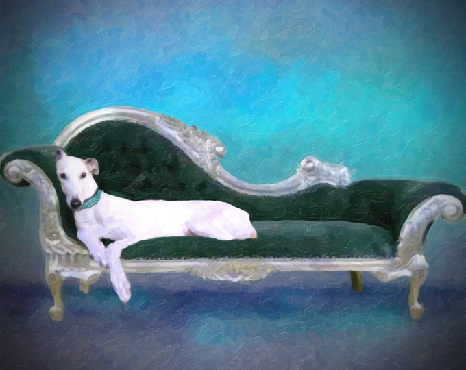 Pet Portrait Oil Style Painting Wall Art Custom Gift On Canvas 20x24