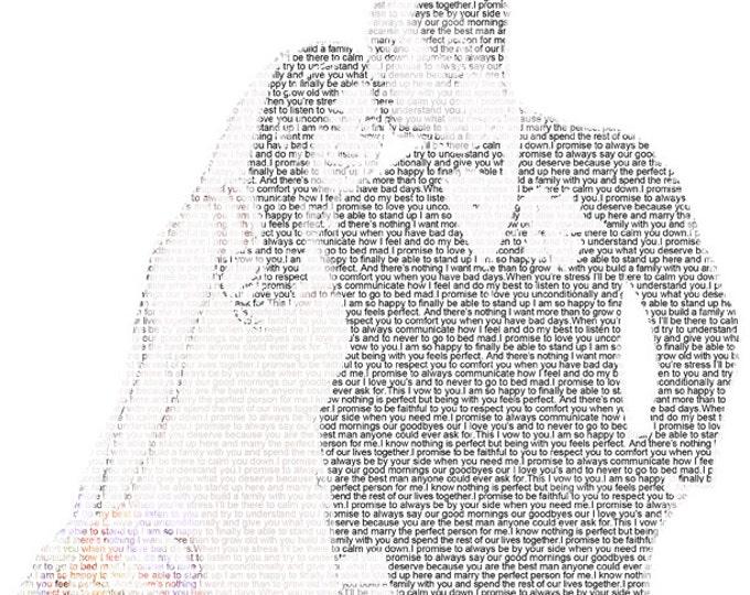 1st Anniversary Wedding Vow Art First Dance Lyrics First Dance Song Wedding Vow Print Wedding Song Lyrics on Heavyweight Paper 8.5x11