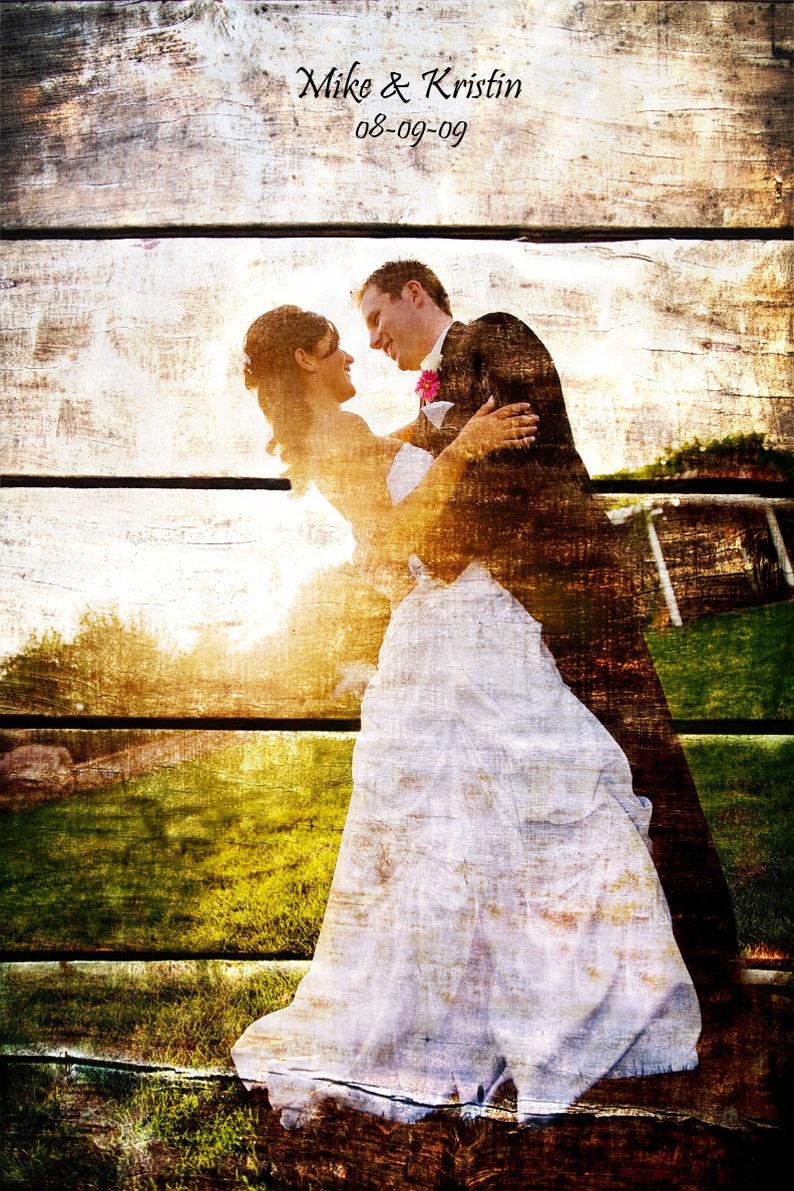 5e Anniversaire Mariage Photo Cadeau Photo Sur Bois 5 Ans Anniversaire Anniversaire Bois Cadeau Parents Anniversaire Portrait De Famille 20 X 30