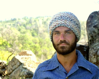 Knit Beanie Hat - Waffle Knit Winter Skullcap - Plush Mens Womens Wool Blend Beanie - More Color Options