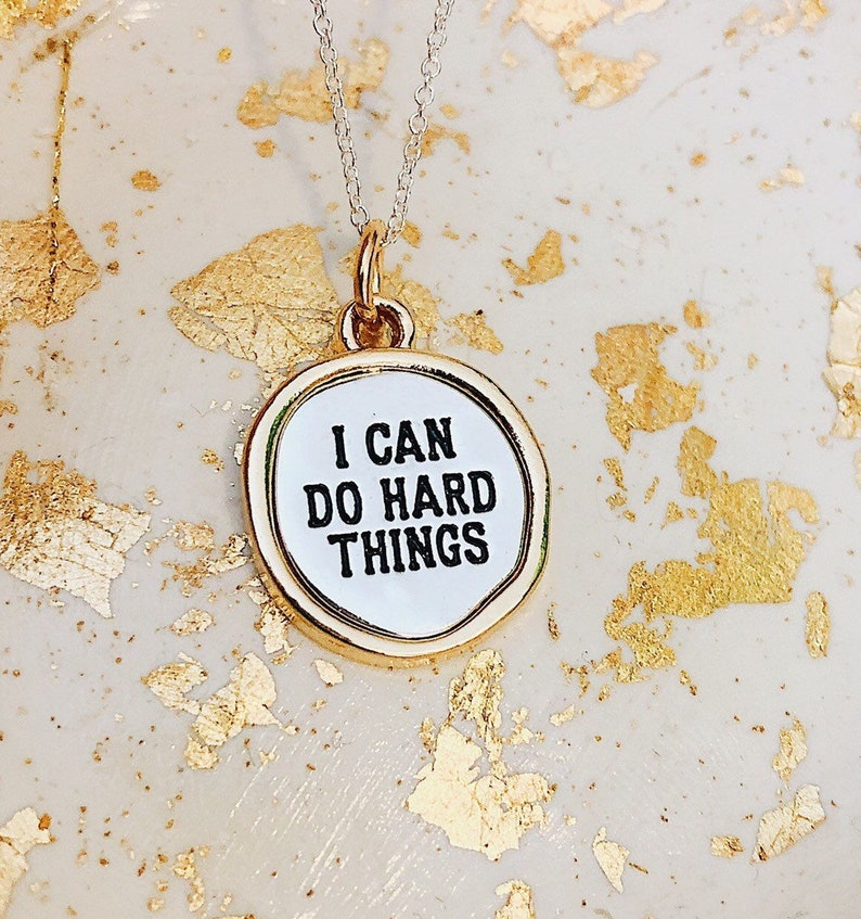 I can do hard things Jewelry-I can do hard things image 0