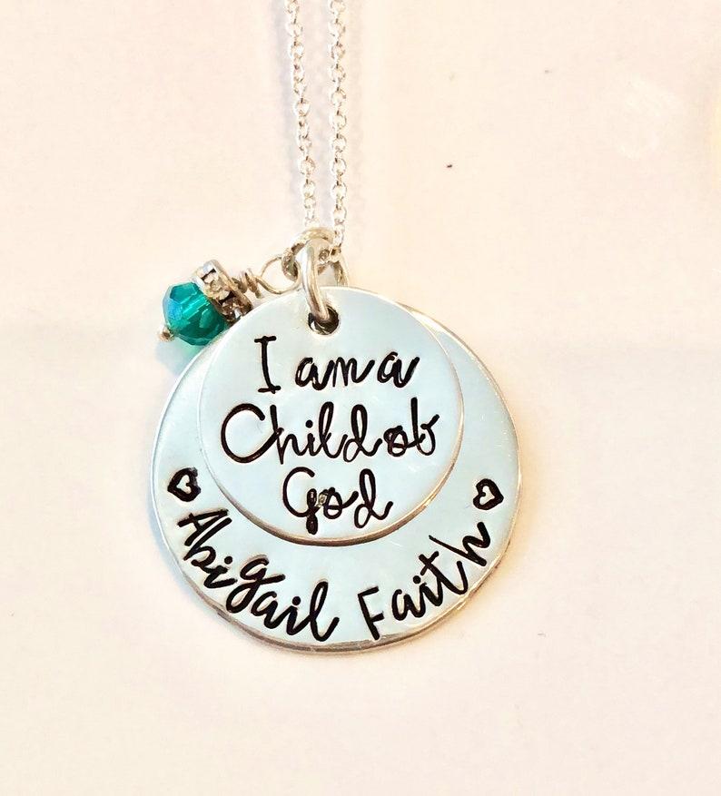 Child of God Necklace-I Am a Child of God Church of Jesus image 0