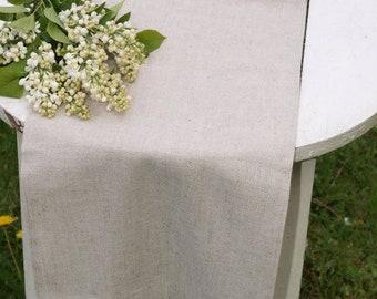 """Table Runner Rustic Weddings Table Runner Linen Table Runner Rustic Table Runner - 14"""" x 57"""""""