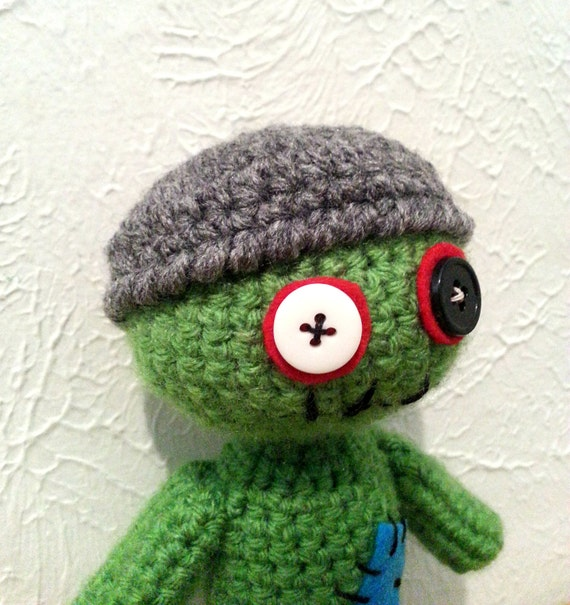53442b0b850 Zombie Winter Beanie Crochet Mini Hat Accessory for Zombie