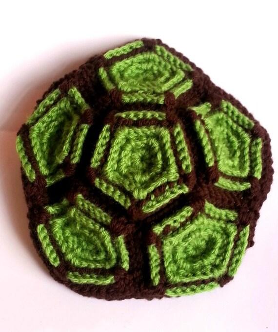 Gehäkelte Schildkröte Decke braun und grün Babydecke | Etsy
