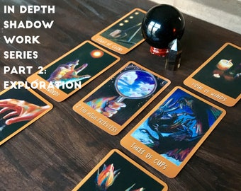 In Depth Shadow Work Series Tarot Reading 2: 6 Card Exploration
