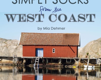 E-book - Knitting patterns - Simply Socks from the West Coast