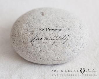 Zen Art Print, Motivational Print, Positive Quote Print, Inspirational Quote Poster, Yoga Decor, Meditation Art, Mindful Quote, Mindful Art