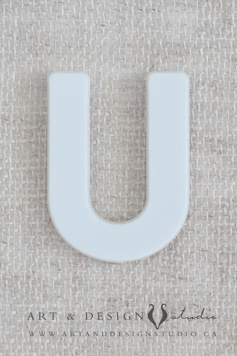 Unique Letter Art Alphabet U Photography Neutral Home Decor Etsy