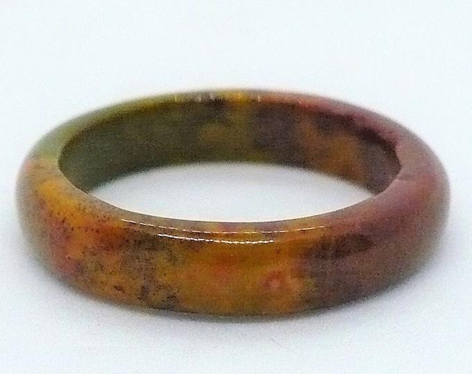 sz 6 1/4 Stacking Gemstone Band Ring Vintage Jewelry