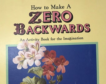 Age 9-12 Art Zero Craft Book Projects DIY Vintage Art Craft Supply Homeschool Budding Artist
