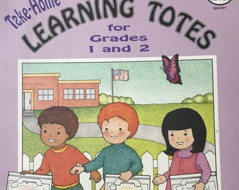 Grade 1-2 Take Home Learning Totes Teacher Supplies For Fun Homework