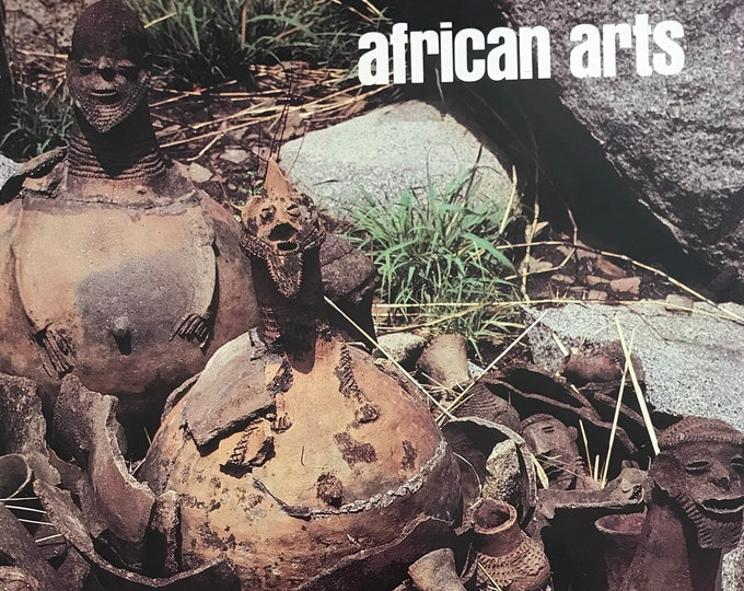 "Rare Back Issue African Arts ""Special Issue"" Portraiture In Africa UCLA July 1990 Volume XXIII  (23) Number 3"