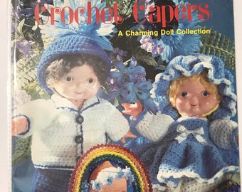Doll Craft Book /  A Charming Doll Collection / Vintage Craft Supply / Get Lucky Vintage