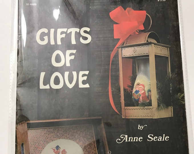 Christmas Gifts of Love by Anne Seale Vintage Craft Hobby Book