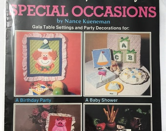 Special Occasions Sewing Craft Patterns Projects DIY Book Vintage Craft Supply Table Settings Party Decorations