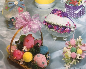 Easter and Other Holidays More Decorations Year Round Craft Book Projects DIY Vintage Aunt Ellen's Holiday Almanac Crafts for All Occasions