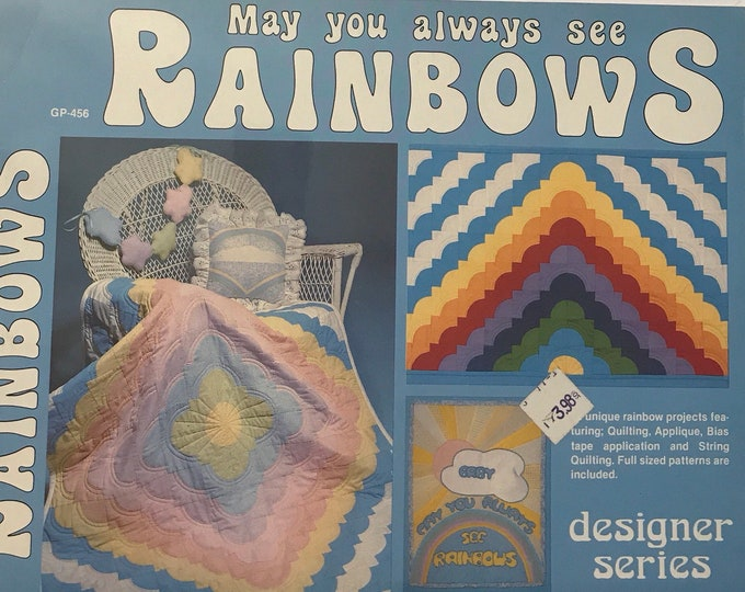 May You Always See Rainbows Vintage Craft Book