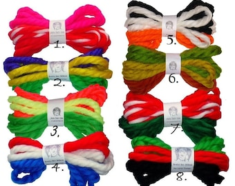 Yarn Hair Ribbons, Kids
