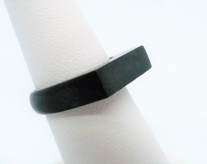 sz 6 1/4 Gemstone Signet Stone Ring