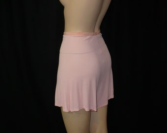 XS/S Cute Coquette 1930's 1940's Vintage Panties Pink Tap Pants Lingerie Undies Rayon X-Small Small