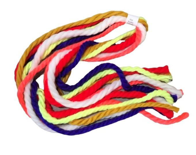 1970's Vintage Yarn Headbands Hair Ties Cosplay Birthday Party Favors String-ties Get Lucky Vintage