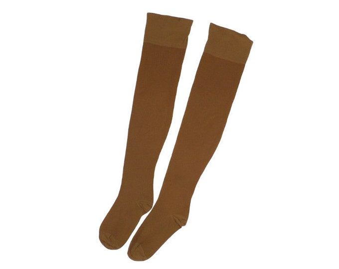 1960's Vintage Teen Thigh High Nylon Stockings RHT