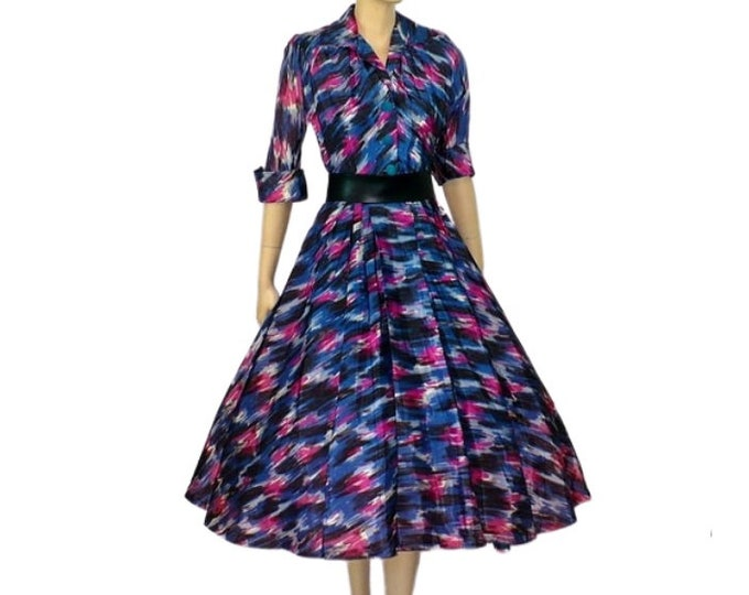 1950's Vintage Mambo Lucy Party Dress VLV Small