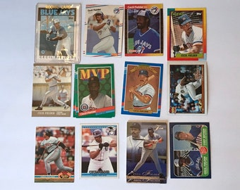 Cecil Fielder Rookie Card RC Lot Baseball Trading Card Vintage Sports Memorabilia Collectibles