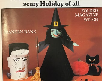Halloween Craft Book Easy Kids' Crafts Household Items To Crafts Holidays Craft Book Projects DIY Vintage Craft Supply