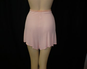 XS/S Finest Fanny Wartime 1930's 1940's Vintage Panties Pink Tap Pants Lingerie Undies Rayon X-Small Small