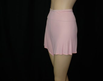 S Big Tease Beauty Wartime 1930's 1940's Vintage Panties Pink Tap Pants Lingerie Undies Rayon Small