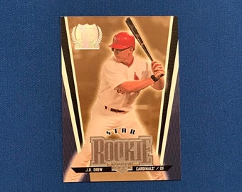 1999 Upper Deck Silver #10 J. D. Drew Rookie Card RC St. Louis Cardinals Baseball Card Trading Card