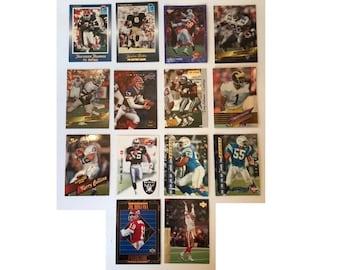 1992 1993 1994 1995 Promo Football Cards Slam Upper Deck Superior Score Pro Line Sky Box