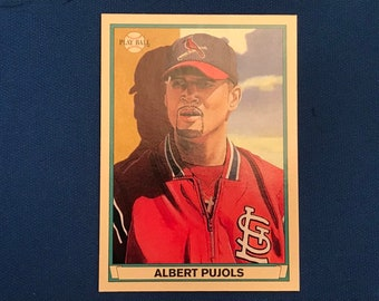 2003 Upper Deck #65 Albert Pujols St Louis Cardinals Baseball Trading Card Vintage Sports Memorabilia Collectibles