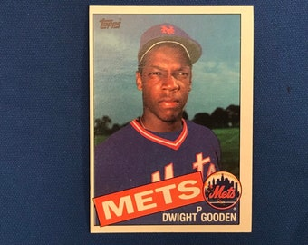 1985 Topps / #620 / Dwight Gooden / RC  / Rookie / Vintage Baseball Card / Get Lucky Vintage