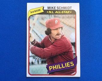 1980 Topps #270 Mike Schmidt HOF Phillies Baseball Trading Card Vintage Sports Memorabilia Collectibles