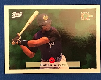 1995 Best Baseball Promo Card / Ruben Rivera / 16th National 16th National Sports Collectors Convention / Phoenix Arizona Edition RARE
