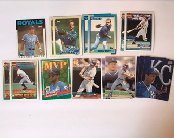 Lot George Brett / Hall of Fame / HOF / Vintage Baseball Card / Get Lucky Vintage