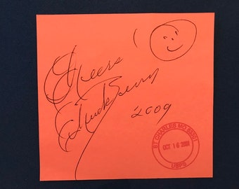 Chuck Berry Signed Autograph St. Louis