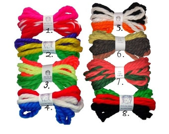 Vintage Yarn Hair Ties