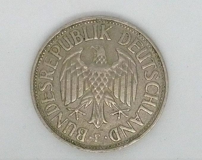 Deutschland German 1966 1 Deutsche Mark Coin