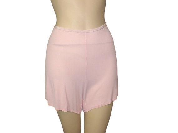 Wartime 1930's 1940's Vintage Panties Pink Tap Pan