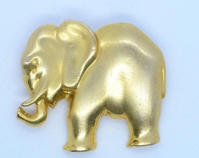 Metropolitan Museum of Art Golden Elephant MMA Brooch