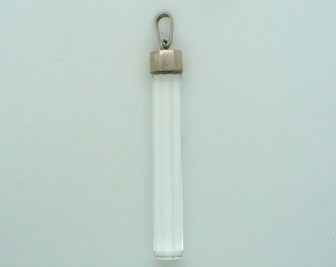 Long Murano Crystal Prism Suncatcher Pendant