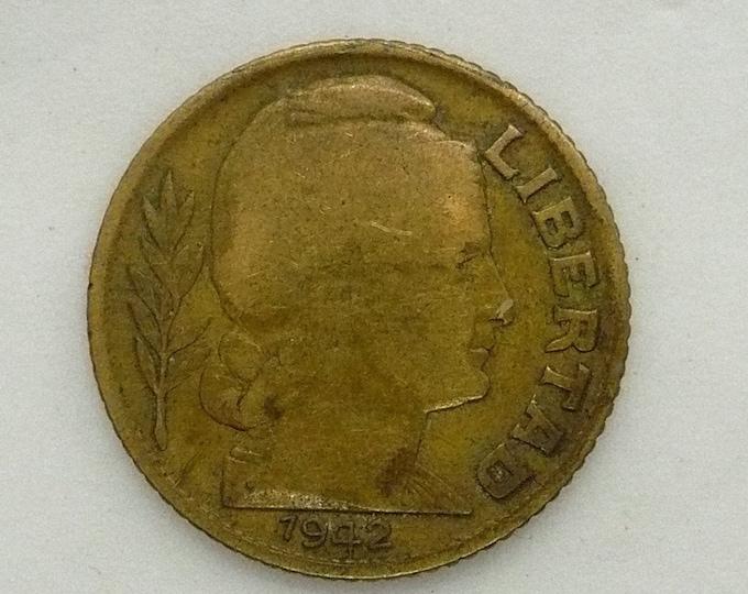 Argentina 1942 10 Centavos Error Coin